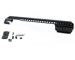 Black Aces Tactical Picatinny Quad Rail - Mossberg 930 - Black