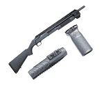 Black Aces Tactical Picatinny Quad Rail Complete Upgrade Kit - Mossberg 500/590/A1, & 88