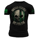 Grunt Style 'United States Veteran' Mens T-Shirt - GS2258