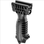 Fab Defense Tactical Foregrip with Integrated Adjustable Bipod - Black