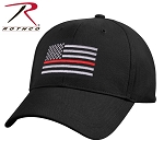 Rothco Thin Red Line Flag Low Profile Cap