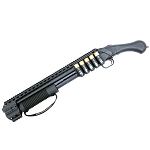 Black Aces Tactical Picatinny Quad Rail - Mossberg 590 Shockwave Kit