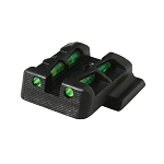 Hi Viz LITEWAVE® Interchangeable Rear Sight for S&W M&P Shield in 9mm, .40 S&W and 45 - MPSLW11