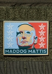Nine Line Apparel 'Mad Dog Mattis' PVC Morale Patch