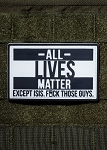 Nine Line Apparel All Lives Matter Rubber Morale Patch