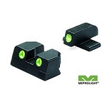 Meprolight Springfield XD Tru-Dot Night Sight Set - 9mm & 40S&W - Green/Green ML11410