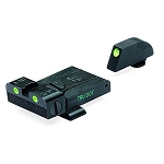 Meprolight TRU-DOT Adjustable Night Sights For Glock 9MM, .357 SIG, .45 S&W & .45 GAP - Green/Green ML20224G