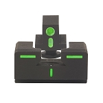 Meprolight Glock R4E Family Front/Rear Sight Set - Green ML12224G