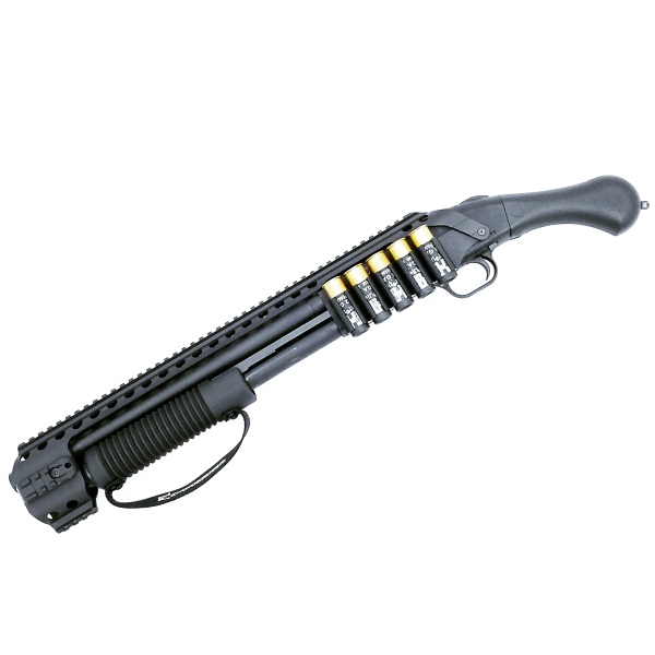 Black Aces Tactical Picatinny Quad Rail - Mossberg Shockwave