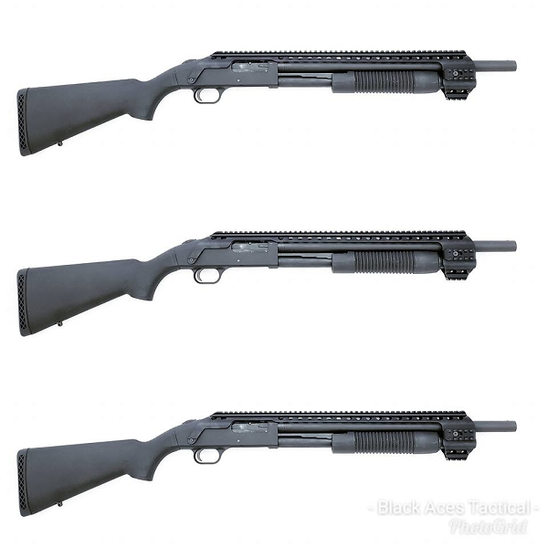 Black Aces Tactical Picatinny Quad Rail Mossberg 500 590 590A1 Maverick 88