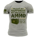 Grunt Style 'Ammo Is Happiness' Mens T-Shirt - DW617
