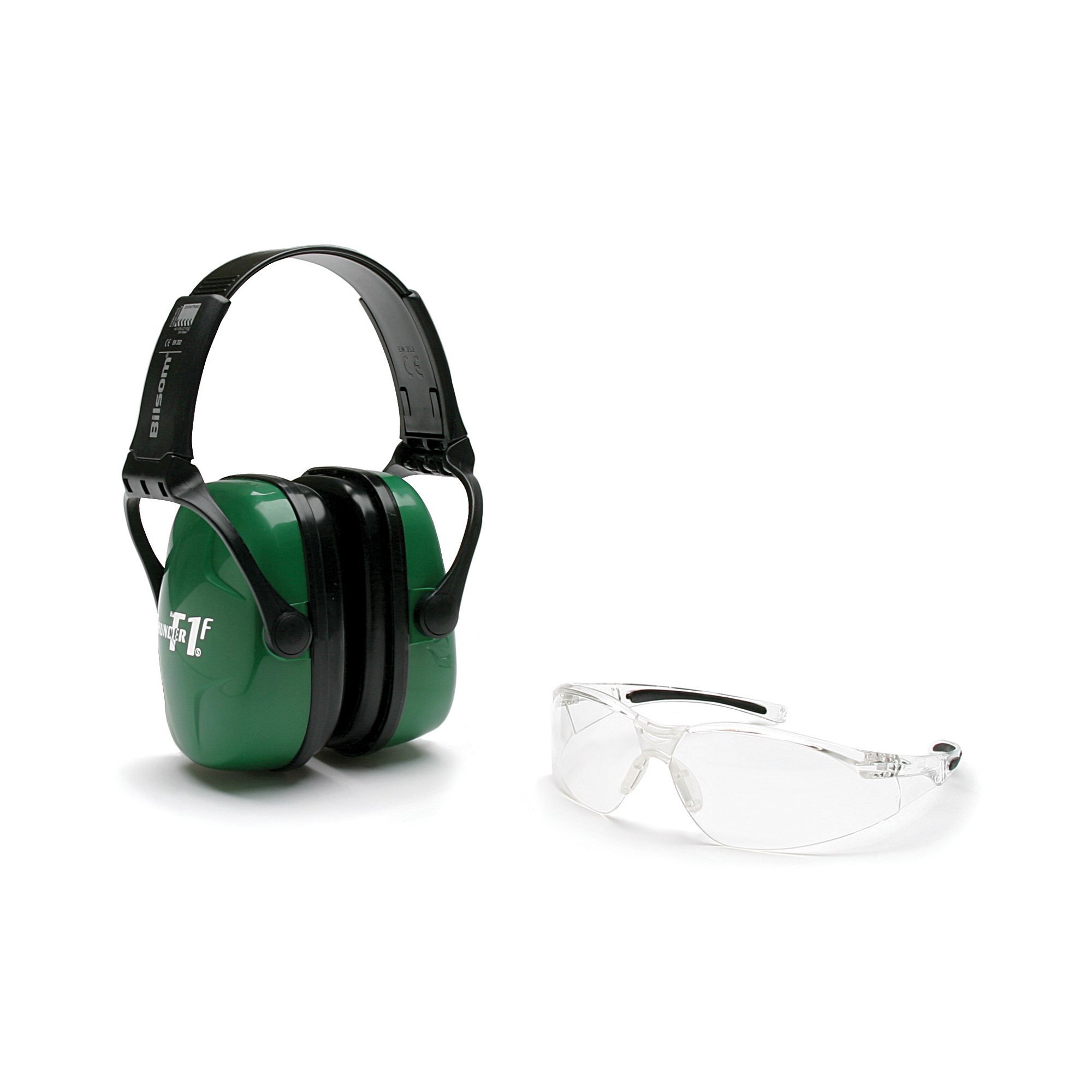 Howard Leight Shooting Safety Earmuffs and Shooting Glasses Combo Kit