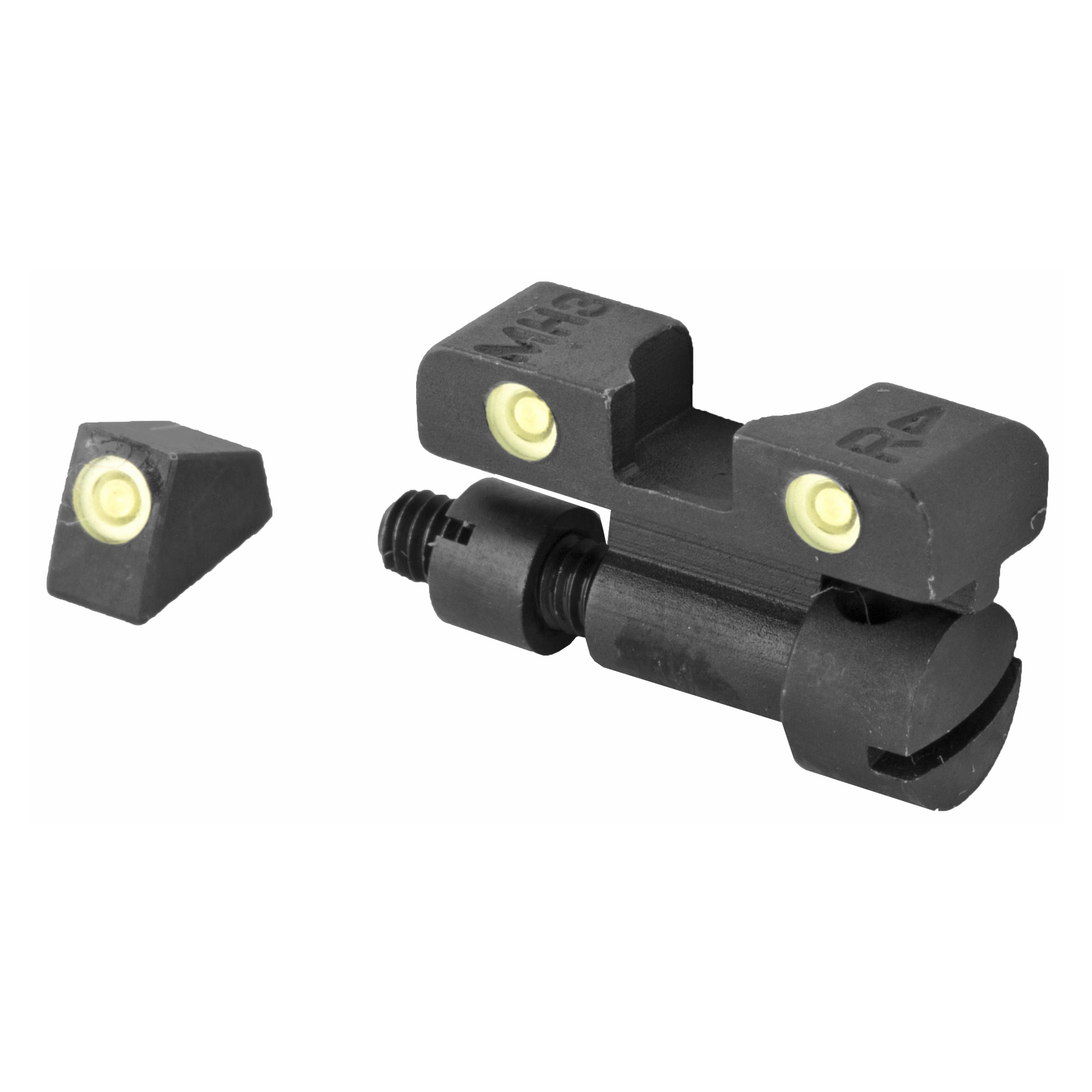 Mako Meprolight Tru-Dot S&W K/L/N Frame Revolver Night Sights Adjustable ML22770