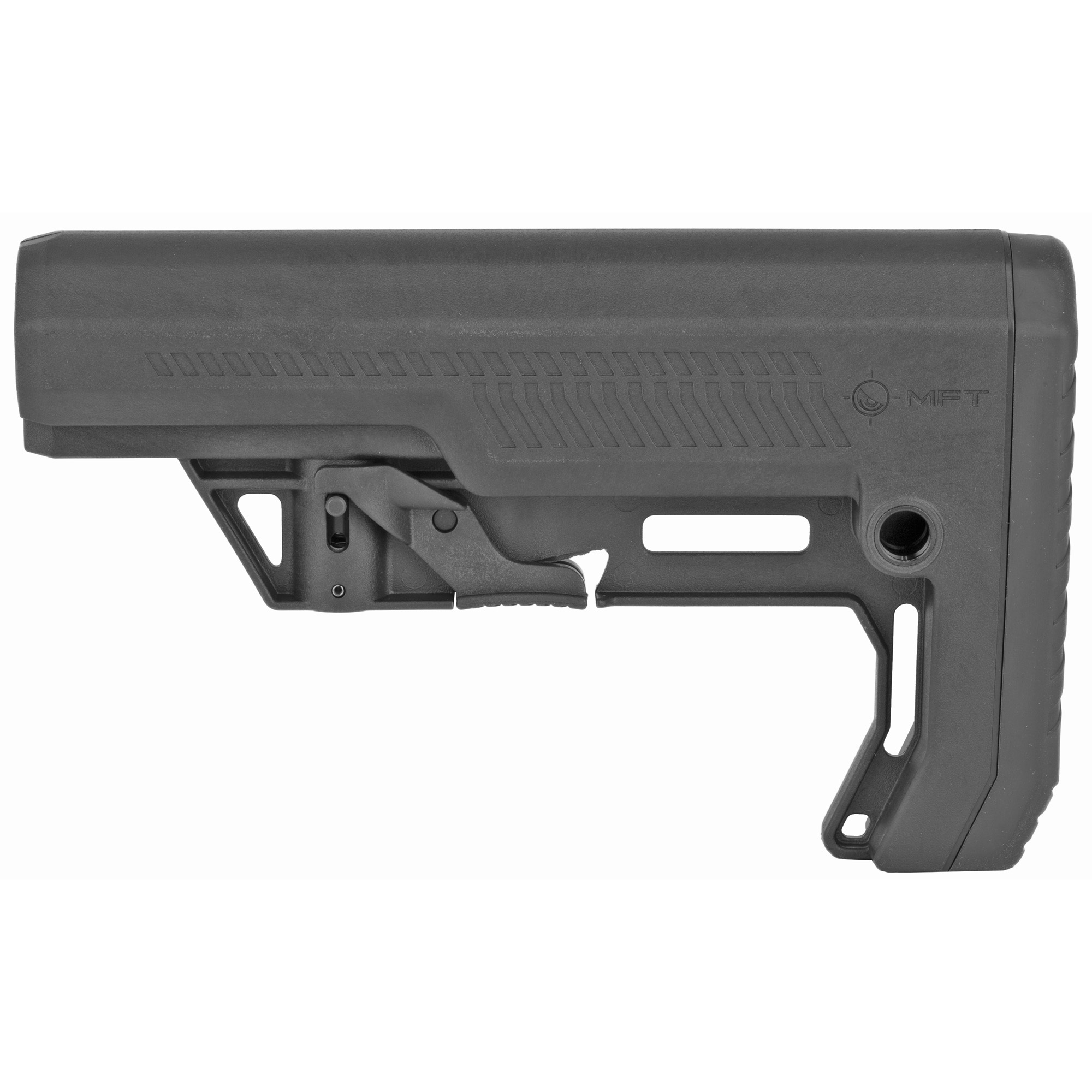 Mission First Tactical Battlelink Extreme Duty Minimalist Stock, Mil-Spec, Polymide, Black