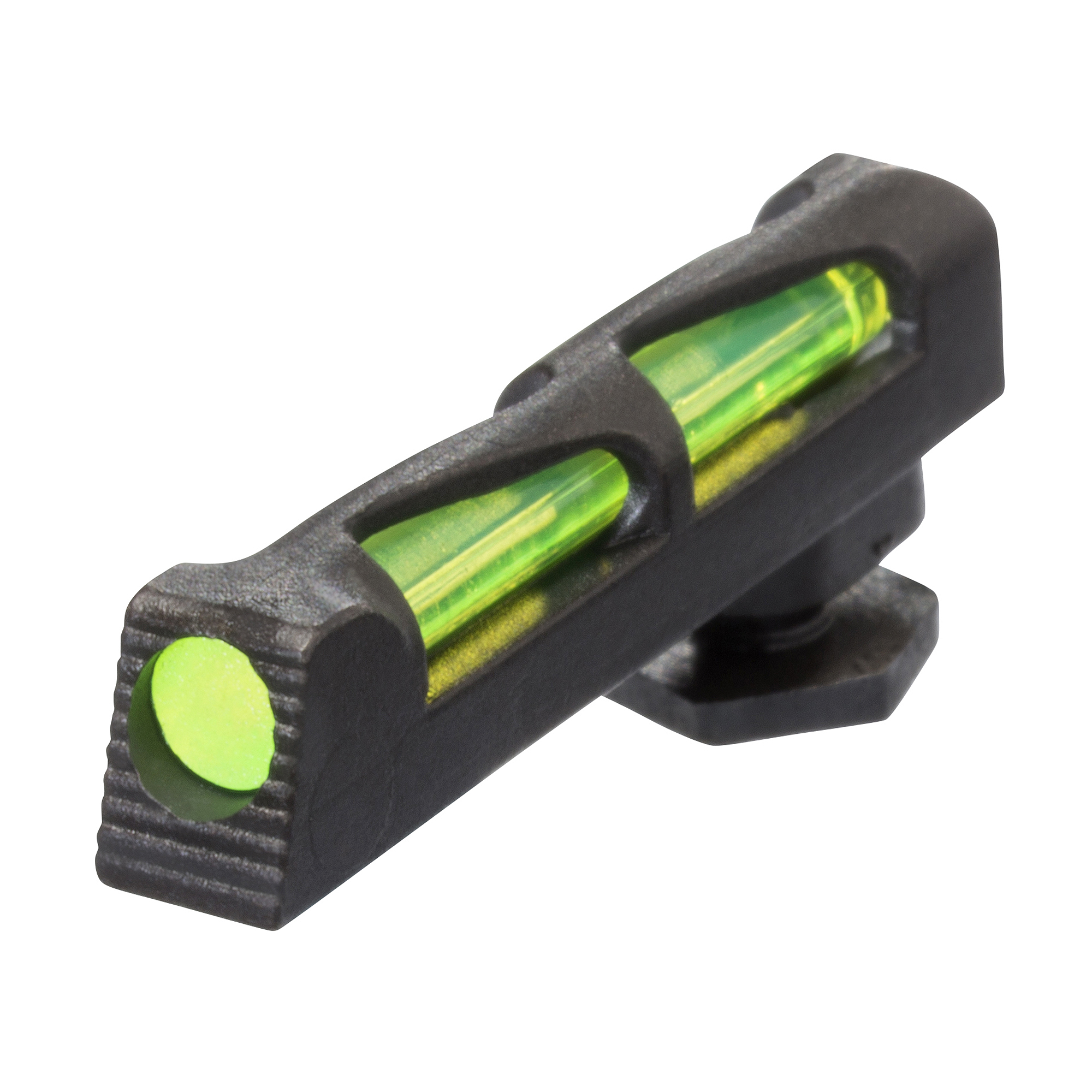 HiViz Glock Front Sight Fiber Optic Interchangeable Litepipes Red, Green, & White