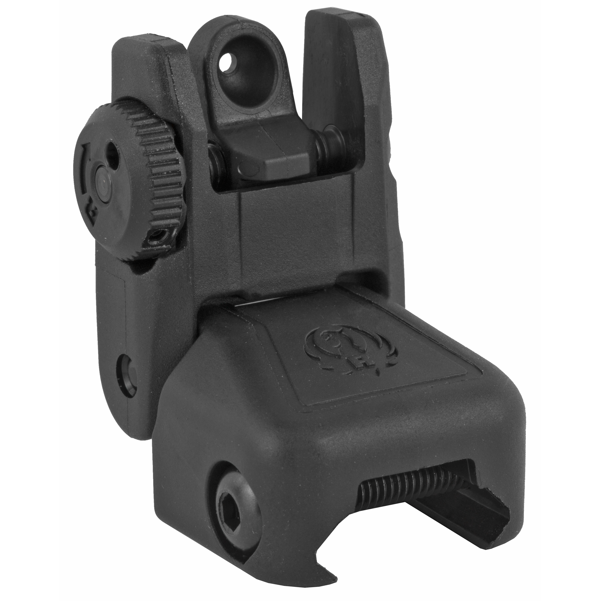 Ruger Rapid Deploy Folding Rear Sight Polymer Black