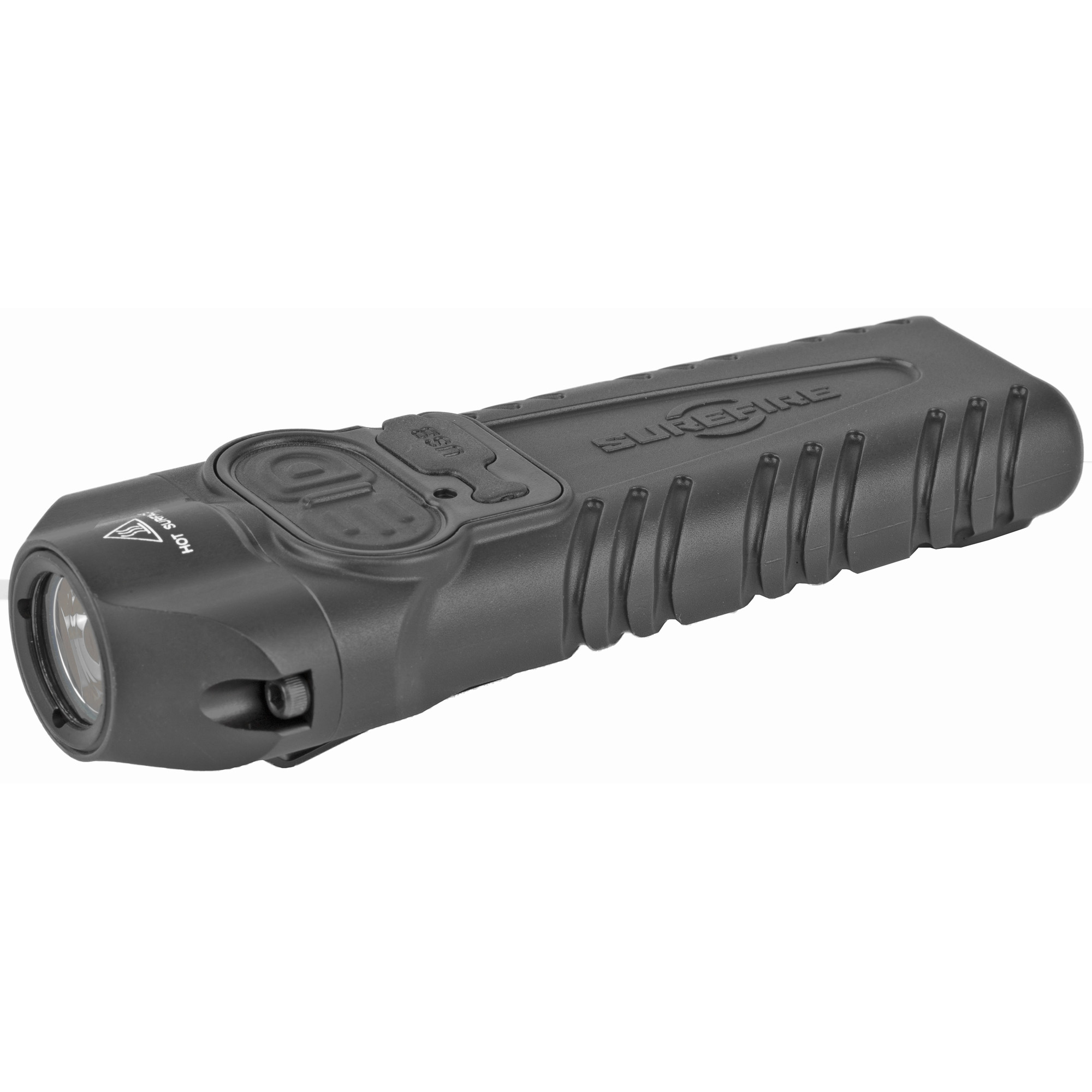 SureFire Stiletto Pro 1000 Lumen LED Flashlight Body and Tail Switch Rechargeable Aluminum Black