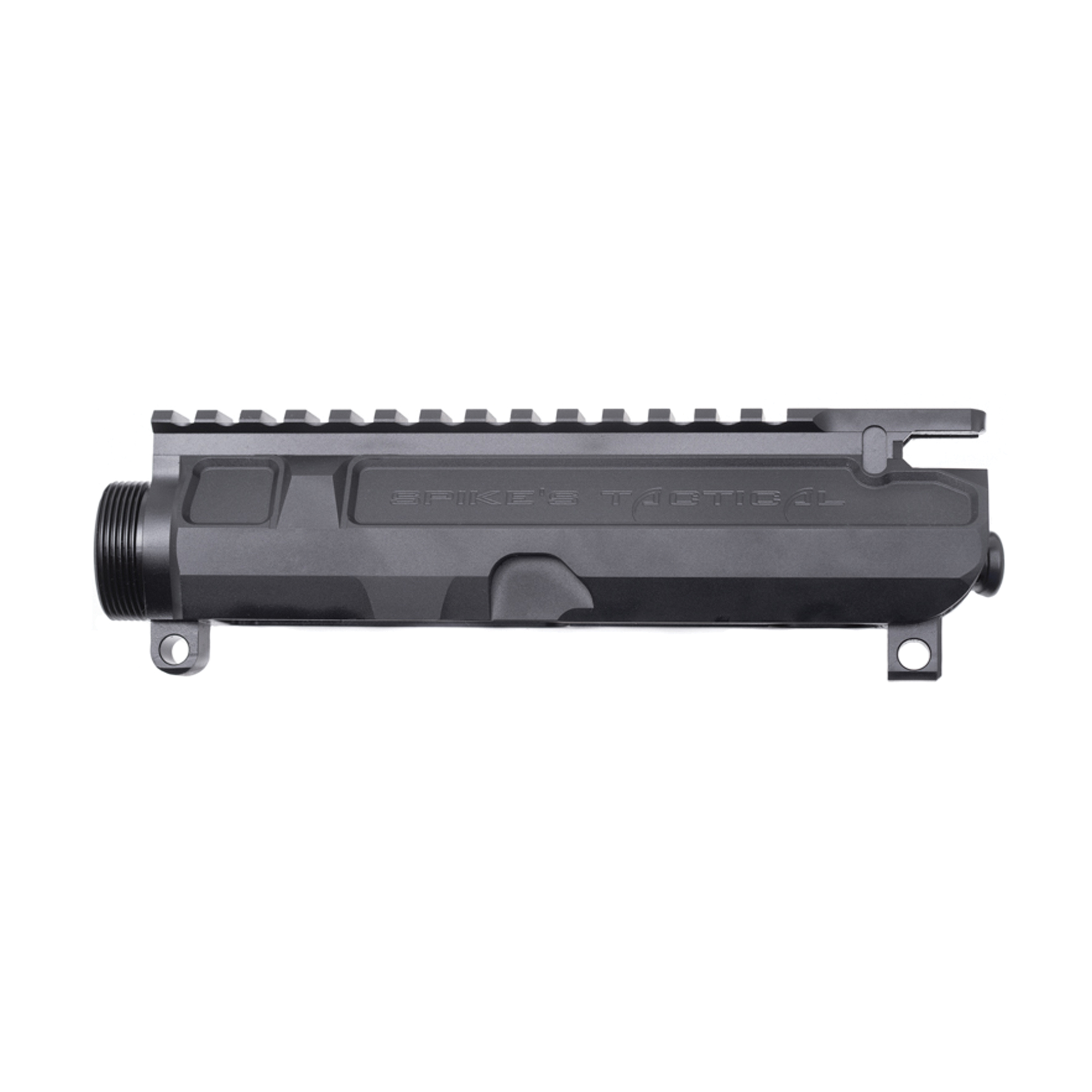 Spike's Tactical AR-15 Gen II Billet Stripped Upper Receiver Aluminum Black Anodized Finish