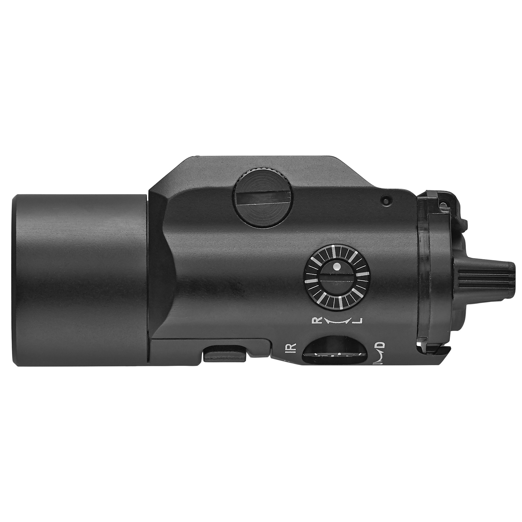 Streamlight TLR-VIR II Visible Light with Infrared Light and Laser, 300 Lumens, Aluminum, Black Finish