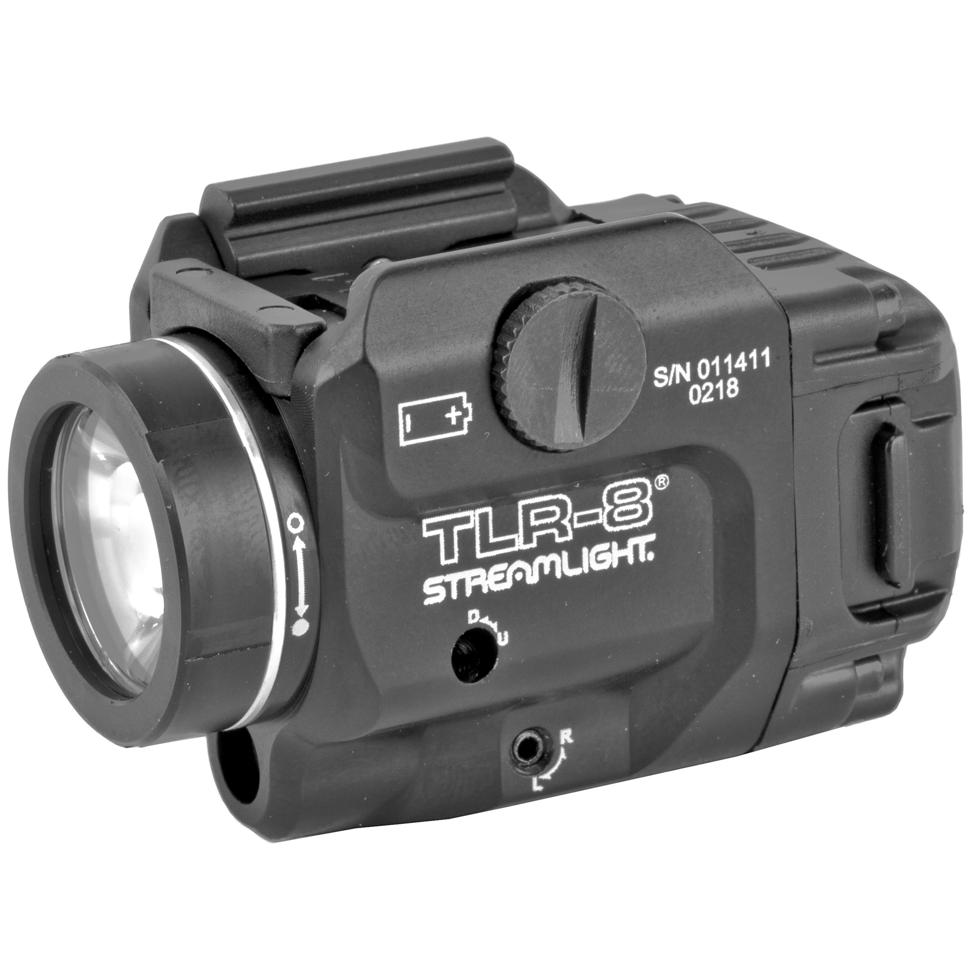 Streamlight TLR-8 Compact Weapon Light/Laser Combo 500 Lumen LED White Light/Red Laser