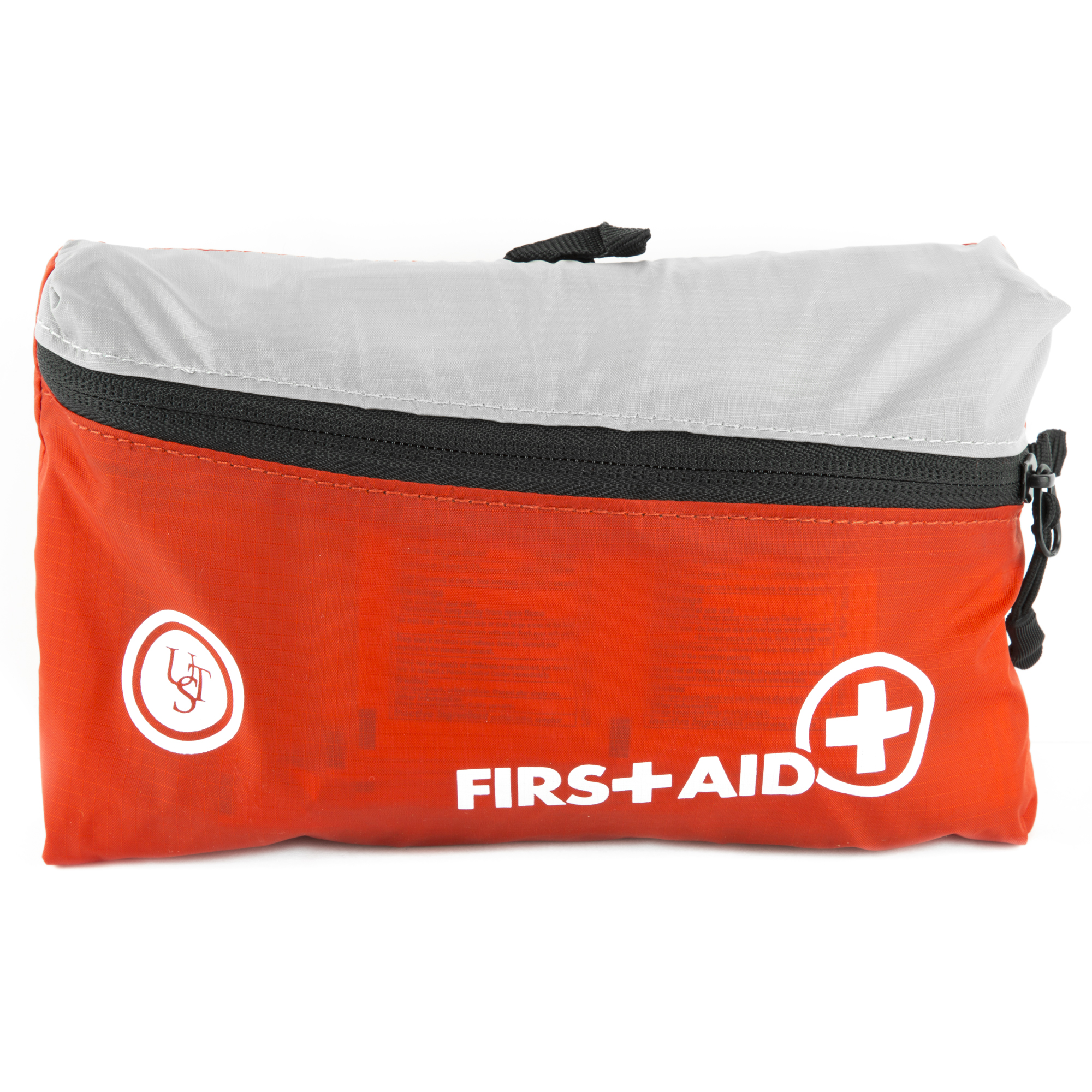 Ultimate Survival Technologies FeatherLite First Aid Kit 2.0 Treats Minor Injuries Nylon Case Red