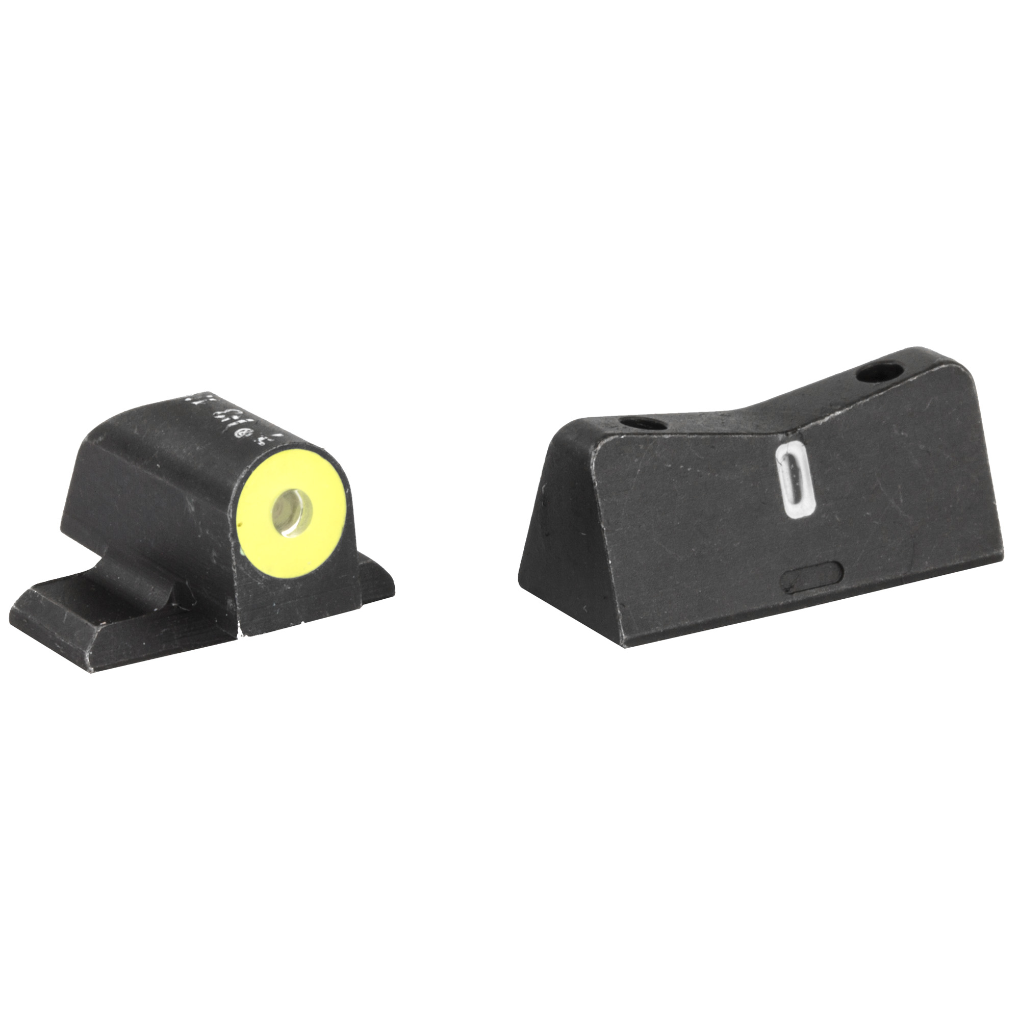 XS Sights DXT2 Big Dot Night Sights Springfield XD's/SIG Sauer P226/P229 Models Green Tritium Front With Yellow Ring/Tritium Stripe Rear