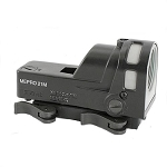 Mepro M21 Self-Powered Day/Night Reflex Sight with Dust Cover - Bullseye Reticle