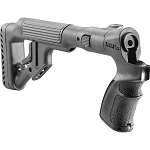 Mako/Fab Defense Tactical Folding Buttstock w/Cheekpiece for Mossberg 500/590