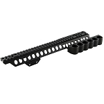 Mesa Tactical 92980 - SureShell Carrier/Rail Kel-Tec KSG (Left Side)