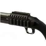 Mesa Tactical 93630 6-Shell SureShell Carrier &  Rail - Mossberg 500