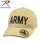 Rothco Vintage Deluxe 'Army' Low Profile Insignia Cap