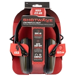 Allen Shotwave Low Profile EMuff Electronic Over-Ear Protection Green