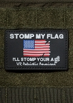 Nine Line Apparel 'Stomp My Flag I'll Stomp Your Ass' PVC Morale Patch