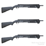 Black Aces Tactical Picatinny Quad Rail RB7SLIM - Mossberg 500 Series