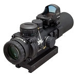 Burris AR-332 3x 32mm Prism Sight Ballistic CQ Reticle Matte w/ FastFire 3 Red Dot Combo