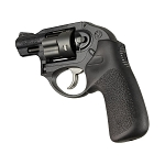 Hogue Ruger LCR No Finger Groove Rubber Tamer Cushion Grip Black - 78030