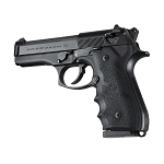 Hogue Beretta 92/96 series grip with Finger Grooves Black - 92000