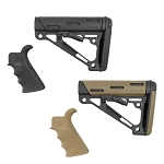 Hogue Mil-Spec Buffer Tube Collapsible Buttstock AR15/M16 Kit