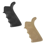 Hogue AR-15/M16 Rubber Grip Beavertail with Finger Grooves