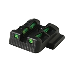 Hi Viz LITEWAVE™ Interchangeable Rear Sight for Glock 9mm, .40 S&W, and .357