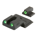 Meprolight Smith & Wesson M&P Shield Tru-Dot Night Sight Set - Green/Green ML11770
