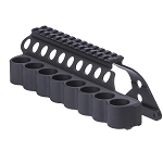 Mesa Tactical 91640 SureShell® Carrier and Saddle Rail for Remington 870,1100,1187