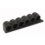 Mesa Tactical 94750 SureShell Polymer Carrier For Mossberg 500 (6 Shell, 12 Gauge)