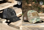 Nine Line Apparel Mesh Back Hat With Drop Line - Grey & Multicam