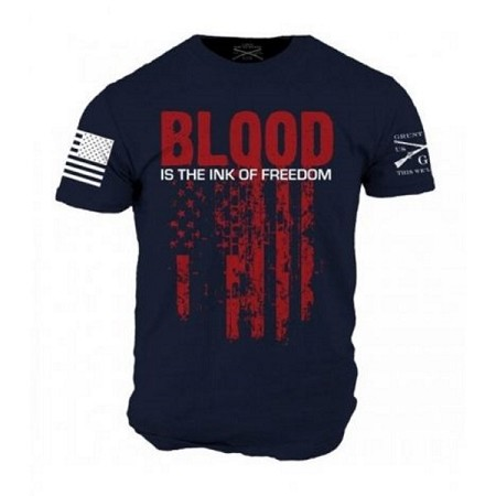 Grunt Style 'Ink of Freedom' Mens T-Shirt - DW481