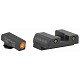 AmeriGlo Spartan Tactical Operator Night Sight Set for GLOCK