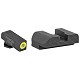 AmeriGlo Protector Sights GLOCK 43 Green Front Black Rear Steel