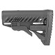 FAB Defense GLR-16 AR-15 Buttstock with Storage Compartment Black