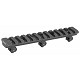 GG&G ETI Under Foregrip Rail For AR-15 Rifle Handguards Aluminum Black