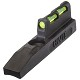 HiViz Ruger 22/45 Lite Fiber Optic Replacement Front Sight Includes Red/Green Interchangeable LitePipes